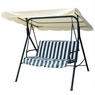 Beige Outdoor Patio Swing Canopy Replacement 6.25 Foot