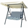 Beige Outdoor Patio Swing Canopy Replacement 6.37 Foot