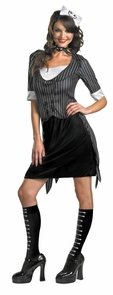 Jack Skellington Sassy 12-14 Costume