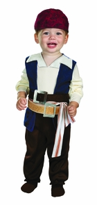 Jack Sparrow 12-18 Month Costume
