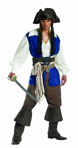 Jack Sparrow Adult Dlx 42-46 Costume