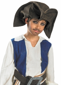 Jack Sparrow Pirate Hat Child Costume