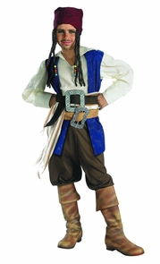 Jack Sparrw Qualty Chd 10 To12 Costume