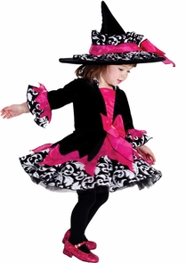 Janie The Witch Tod 18m/2t Costume