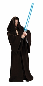 Jedi Robe Super Dlx Adult Std Costume