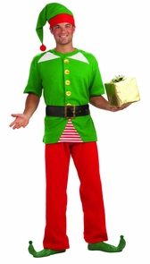 Jolly Elf Adult Costume Costume