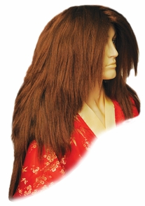 Kabuki Deluxe Md Brown Red Costume