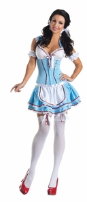 Kansas Cutie Body Shaper 12-14 Costume