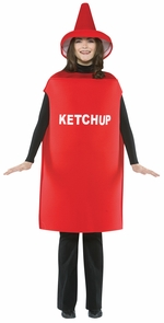 Ketchup Costume Adult Costume