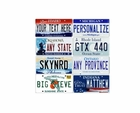 Kids Vanity License Plate Name For Ride On Cars & Vehicles
