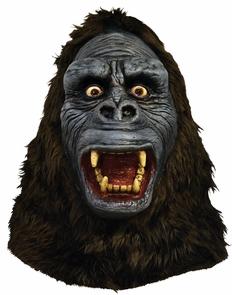 King Kong Latex Mask Costume