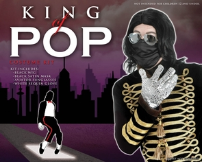 King Of Pop Kit Costume