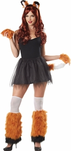 Kits Fox 4 Piece Costume