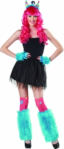 Kits Monster 3 Piece Rainbow Costume