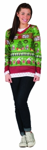 Ladies Ugly Christmas Xl Costume