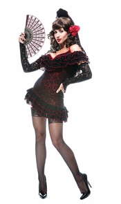 Lady Of Spain French Kiss Lg Costume