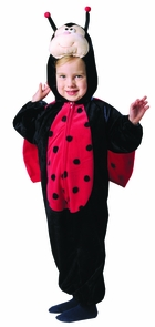 Plush Ladybug With Wings Costume