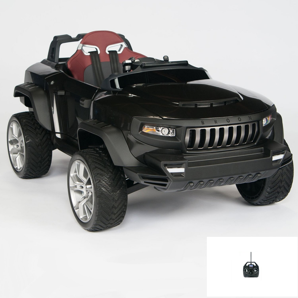 Magic Cars 24 Volt Electric Truck Ride On Car Suv Rc For Kids W Computer