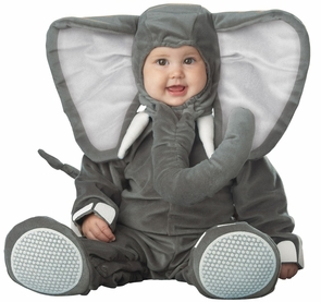 Lil Elephant Character 6-12mos Costume