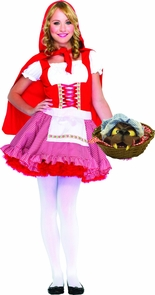 Teen Lil Miss Red Costume