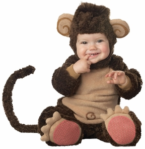 Lil Monkey Lil Character 6-12m Costume