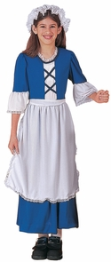 Little Colonial Miss Child Cos Costume