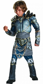 Boy's Lothar Classic Muscle Costume - World Of Warcraft Costume