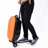 Luggage Scooter Rolling Carry On Suitcase Orange