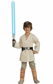 Luke Skywalker Dlx Child Large Costume