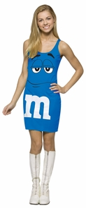 M&m's Blue Tank Dress 13-16 Costume