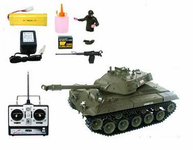 Electric M41A3 Radio Control (RC) Tank Smokes, & Makes Sounds Too
