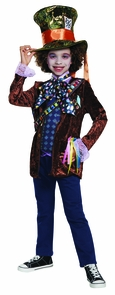 Mad Hatter Classic Child 10-12 Costume