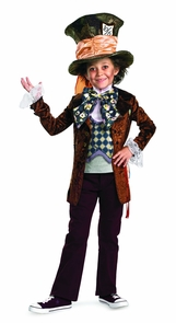 Mad Hatter Dlx Chld 10-12 Costume