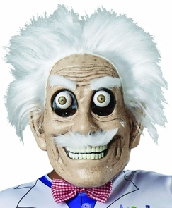 Mad Scientist Mask Googly Eyes Costume