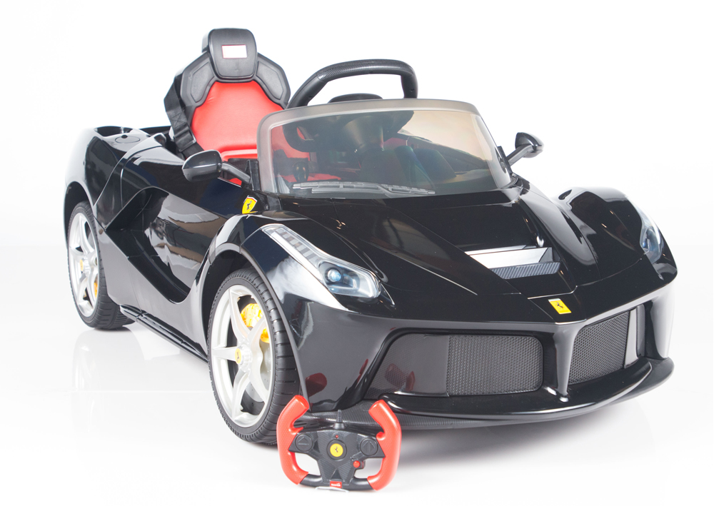 magic cars laferrari ride on 12 volt kids ferrari rc ride on remote control car