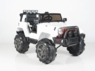 Magic Cars® Real Rubber Tires Big Wheel Jeep Remote Control Electric Ride On Truck For Kids W/Bumper To Bumper Warranty