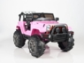 Magic Cars® Big Wheel Jeep Remote Control Electric Ride On Truck For Kids