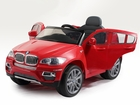 Magic Cars® Electric BMW SUV Ride On RC Kid Car W/Leather Seat