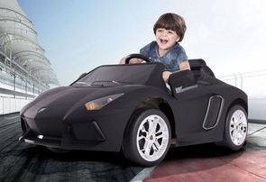 Magic Cars® Kids RC Ride On 12 Volt Lamborghini Aventador Car