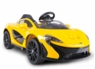 Magic Cars® McLaren P1 12 Volt Ride On Remote Control RC Car For Kids W/Real Rubber Tires