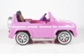 Magic Cars® My First Pink Electric Mercedes G55 RC Ride On Car For Children