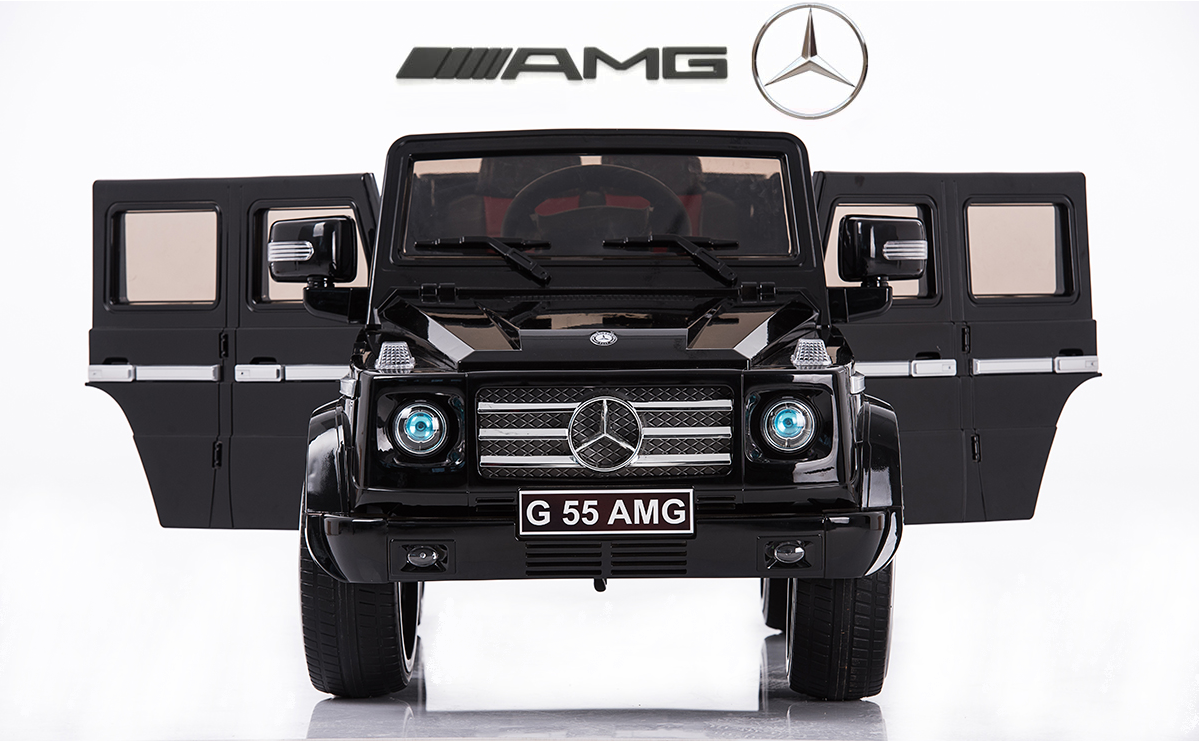 Magic Cars My Pink Electric Mercedes G55 Rc Ride On Car For Children