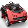 Magic Cars® Ride On Bugatti Style Car For Children W/Working Stereo Horn And Twin Motors