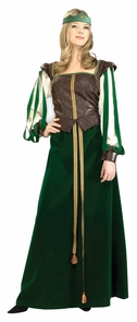 Maid Marion Adult Small 2-6 Costume