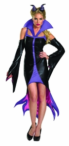 Maleficent Sassy 4-6 Costume