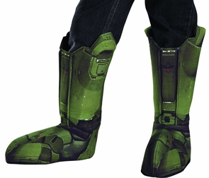 Master Chief Boot Covers Child Costume