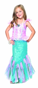 Mermaid Child 10-12 Costume