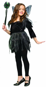 Midnight Fairy Child Lg Costume