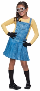 Minion Child Female Small Costume