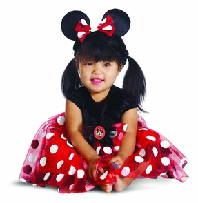 Minnie Infant Red 6-12 Months Costume